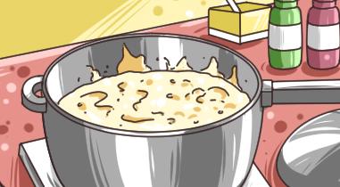 粥凉了为什么会更稠?