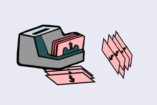 验钞机是如何辨别真伪的?