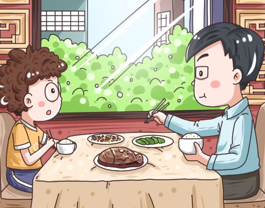 坐着吃饭和站着吃饭哪个香?