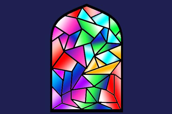 彩色玻璃的颜色是怎么来的?