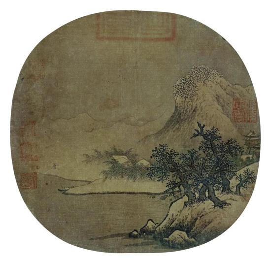 赏析丨宋代小品画:范宽风格山水小品画