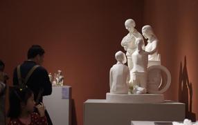 青年雕塑家作品展