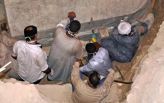 埃及發現古代武士石棺