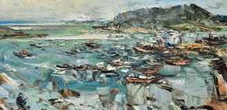 寫意的海——吳曉林油畫展