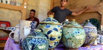 埃及傳統陶藝村煥發現代魅力
