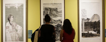中國當代美術作品展