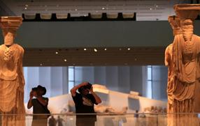 """雅典衛城博物館的""""文明記憶"""""""