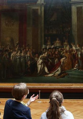 法國盧浮宮重新開門迎客