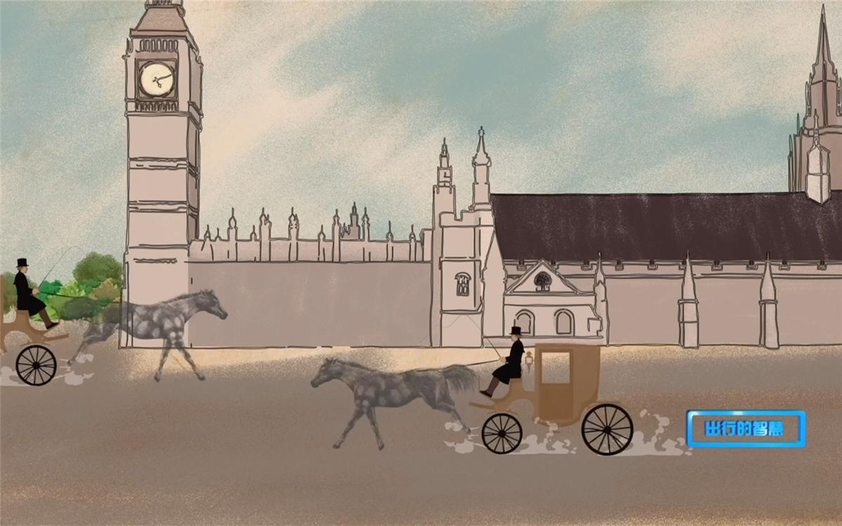 第一盏交通信号灯诞生于伦敦议会大厦广场