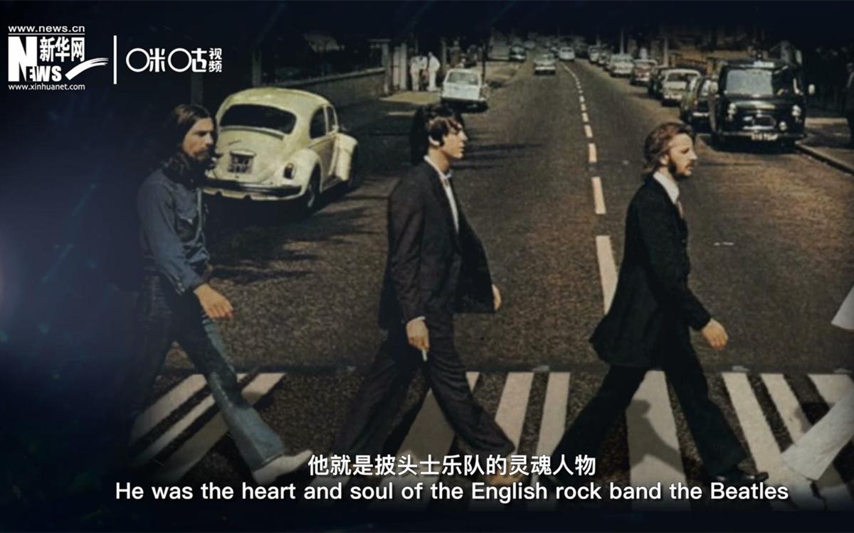 英国著名摇滚乐队——披头士乐队