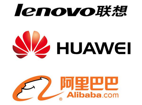 海外認知度高 聯想華為阿裏巴巴位列中國出口品牌前三甲