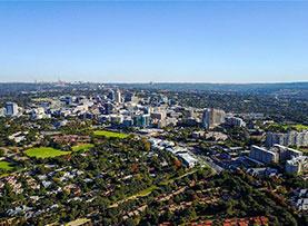 一带一路·好风光|空中俯瞰南非最大城市约翰内斯堡