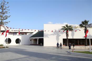 突尼斯芒扎青體中心的中國故事