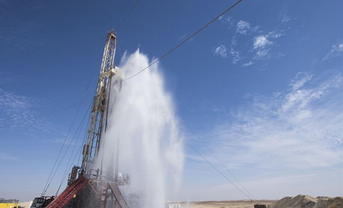 China's drilling company brings water to Egypt's desert for future giant sugar factory