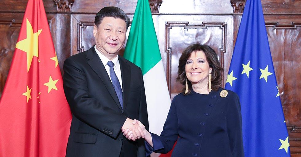 الصين وإيطاليا تتفقان على توسيع التبادلات التشريعية