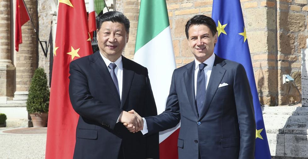 Xi, Conte hold talks on elevating China-Italy ties into new era