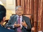 """馬來西亞期待扮演""""一帶一路""""上的貿易樞紐角色——訪馬來西亞總理馬哈蒂爾"""