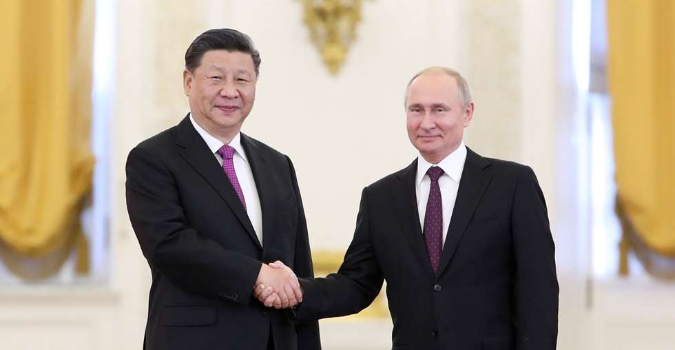 China, Russia agree to upgrade relations for new era