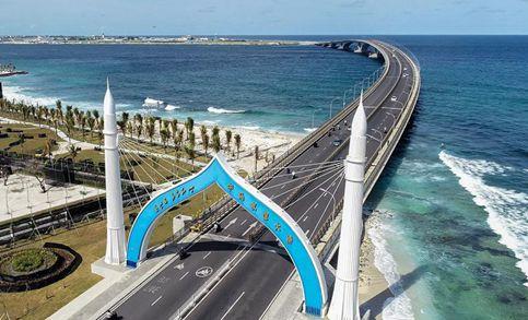China-Maldives Friendship Bridge brings convenience for locals