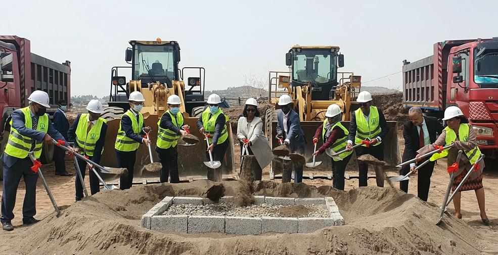 中企承建的埃塞俄比亞莫焦旱港擴建項目開工