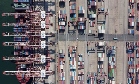China reports robust trade with countries along B&R in H1