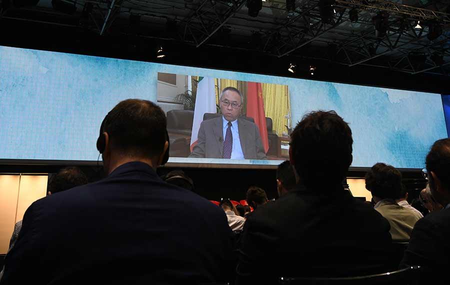 تقرير إخباري: شركات وخبراء من الصين وإيطاليا يستكشفون فرص التعاون في إطار مبادرة الحزام والطريق