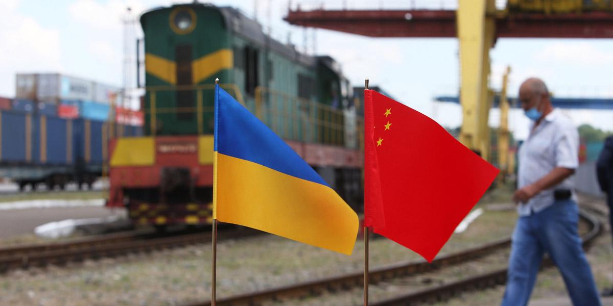 В Киев прибыл первый контейнерный поезд из китайского Уханя