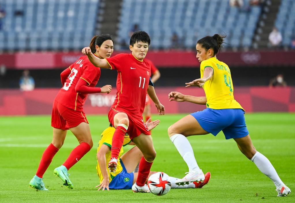 东京奥运会|女足:中国惨负巴西 瑞典爆冷美国