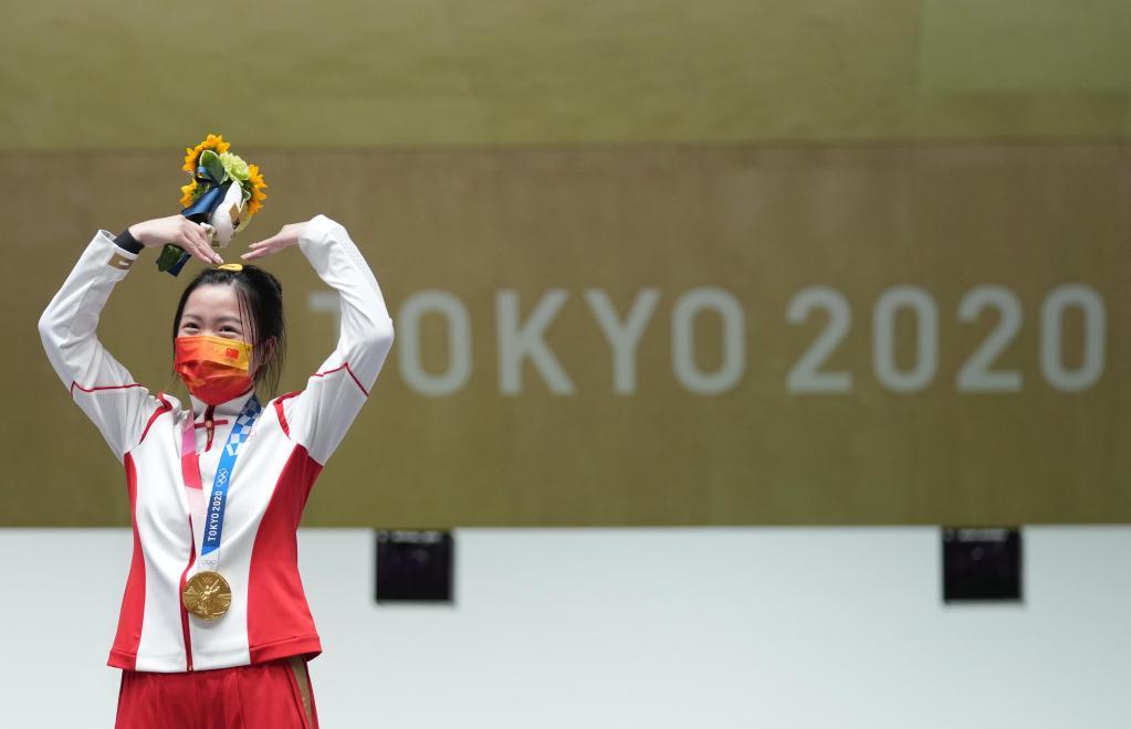 牛!杨倩获东京奥运会首金,最强黑马曾一度跌出了前十名