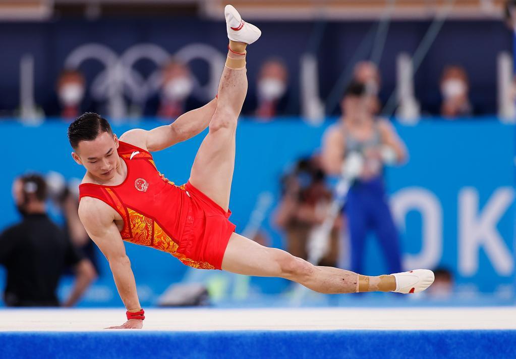 赢得漂亮!中国体操队日进2金1银完美收官