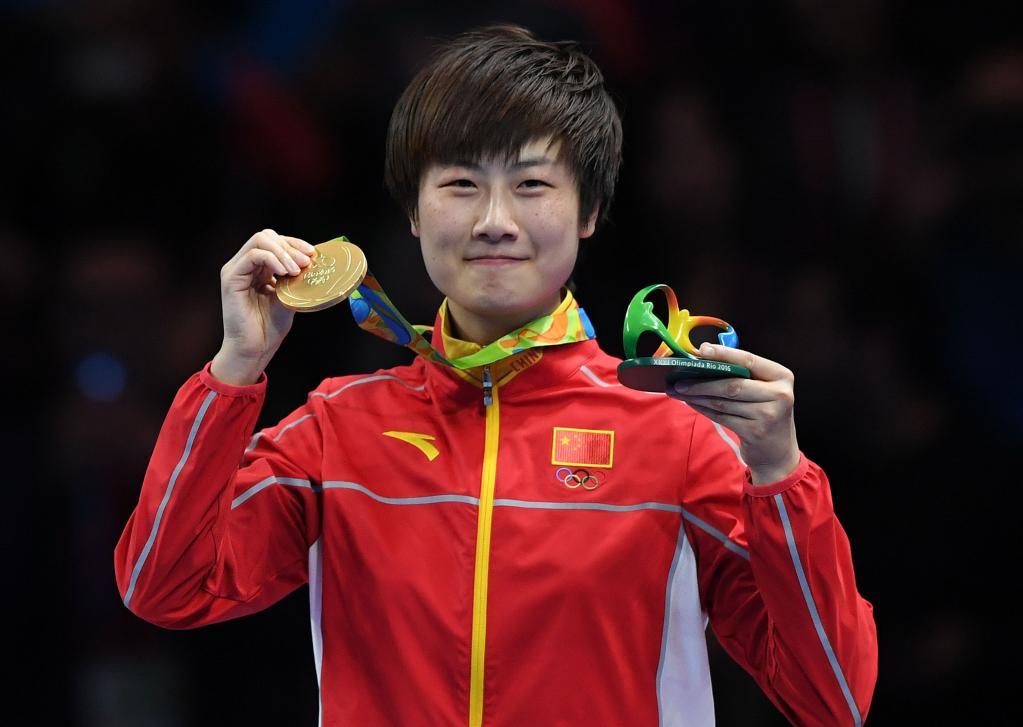 2021-09-06新华网报:乒乓球大满贯得主丁宁宣布退役!
