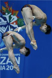 第16届游泳世锦赛男子双人十米台冠军