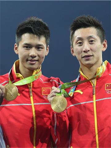 陈艾森:金牌很重、感觉很爽