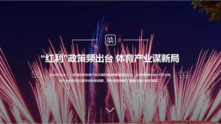 """""""紅利""""政策頻出臺 體育産業謀新局"""