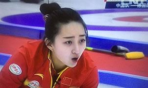 中國冰壺新女神蔣思淼生活照
