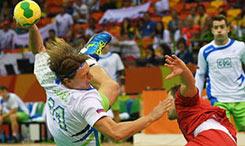 世界男子手球锦标赛东道主法国晋级四强