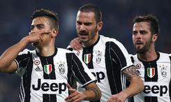 意大利杯半决赛首回合 尤文3-1战胜那不勒斯