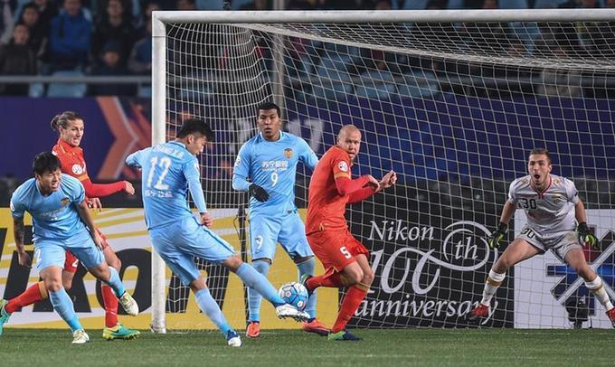 亞冠:江蘇蘇寧主場2-1阿德萊德聯隊 取兩連勝