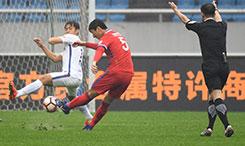 中超-重庆当代力帆0-0战平延边富德