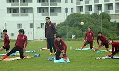阿杯排位赛大面积轮换 中国女足替补做好准备