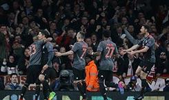欧冠-总分10-2!拜仁5-1双杀阿森纳 皇马3-1