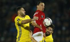 欧罗巴联赛综合:里昂主场力擒罗马 曼联远征收获平局