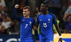 德尚公布法国男足24人名单 新星姆巴佩首次入选