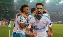 沙尔克04淘汰门兴杀入欧罗巴联赛八强