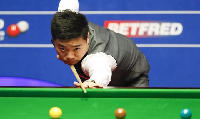 世錦賽四分之一決賽:丁俊暉對陣奧沙利文