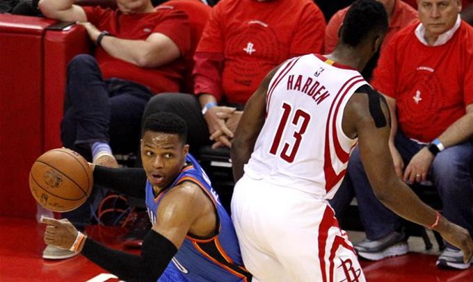 NBA季後賽:火箭隊晉級第二輪