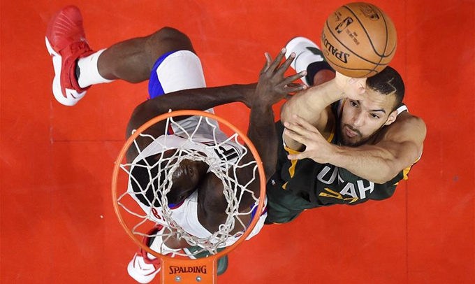 NBA季後賽:爵士勝快船