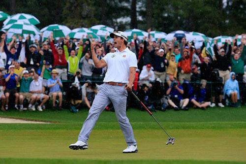 美国高尔夫大师赛:斯科特夺冠