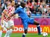 歐洲杯:意大利1:1克羅地亞 握手言和
