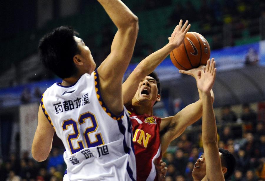 CBA:辽宁衡业队对阵吉林东北虎队